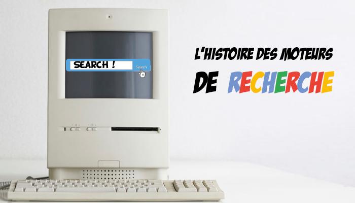 Histoire des Moteurs de recherche